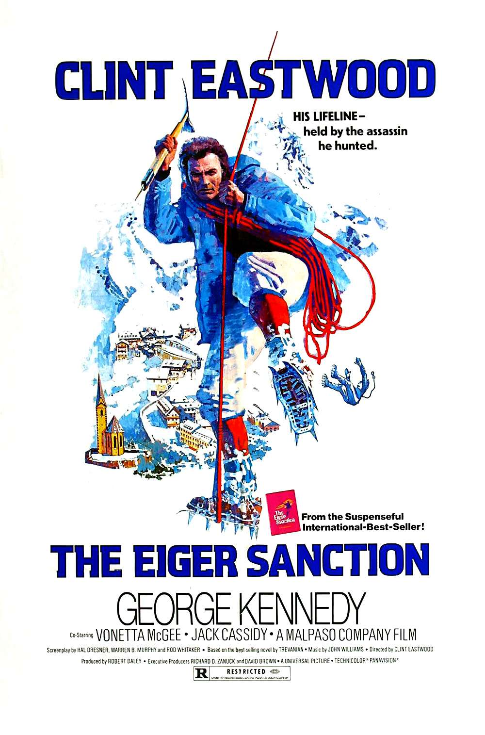 Poster for The Eiger Sanction (1975)