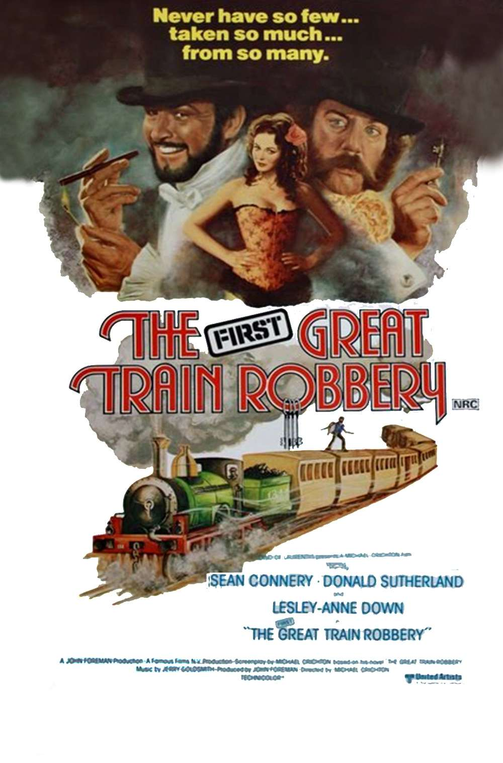Poster for The First Great Train Robbery (1978)