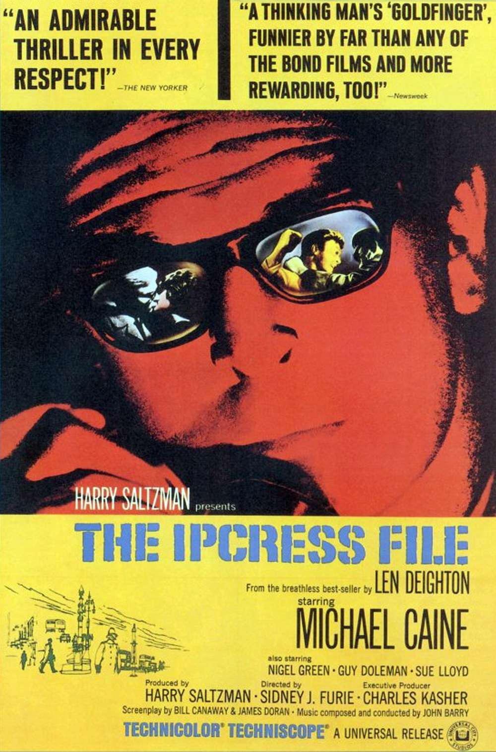 Poster for The Ipcress File (1965)