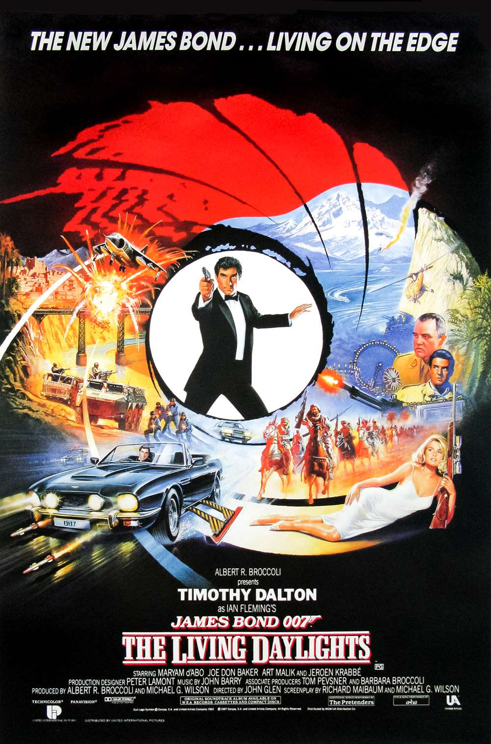 Poster for The Living Daylights (1987)