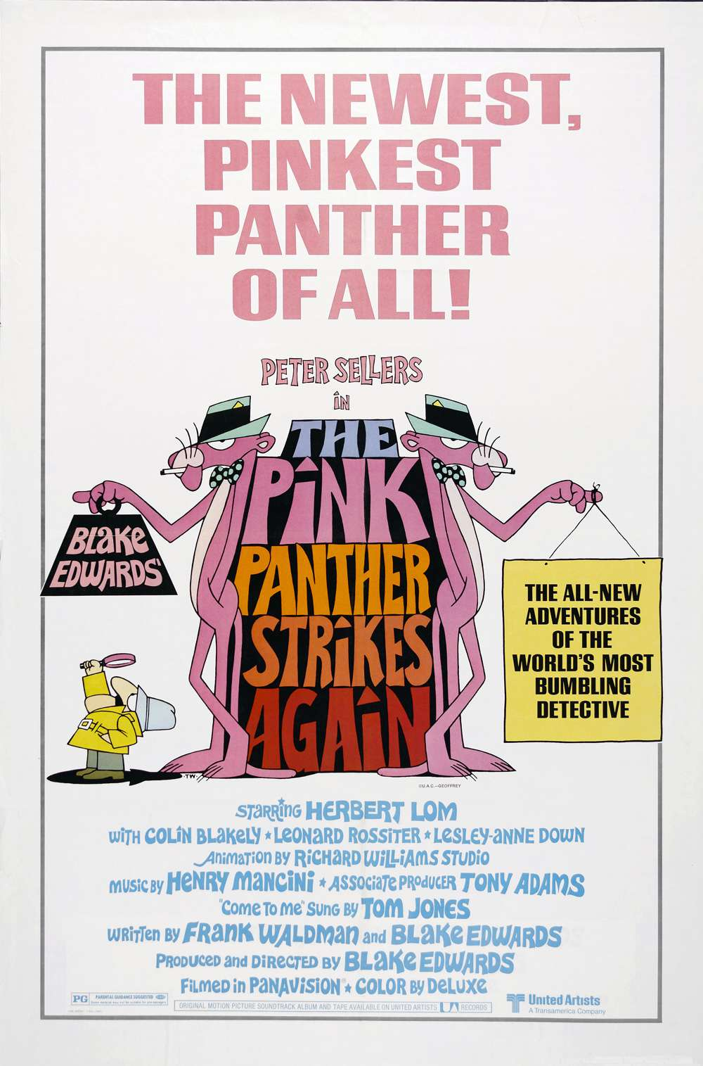 Poster for The Pink Panther Strikes Again (1976)