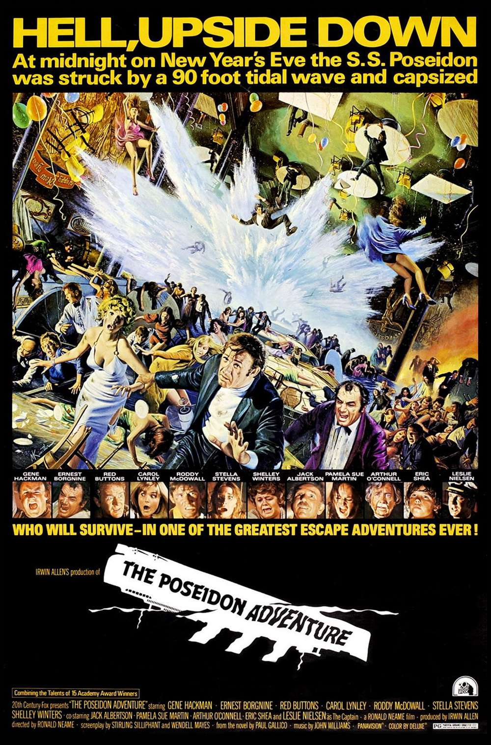 Poster for The Poseidon Adventure (1972)