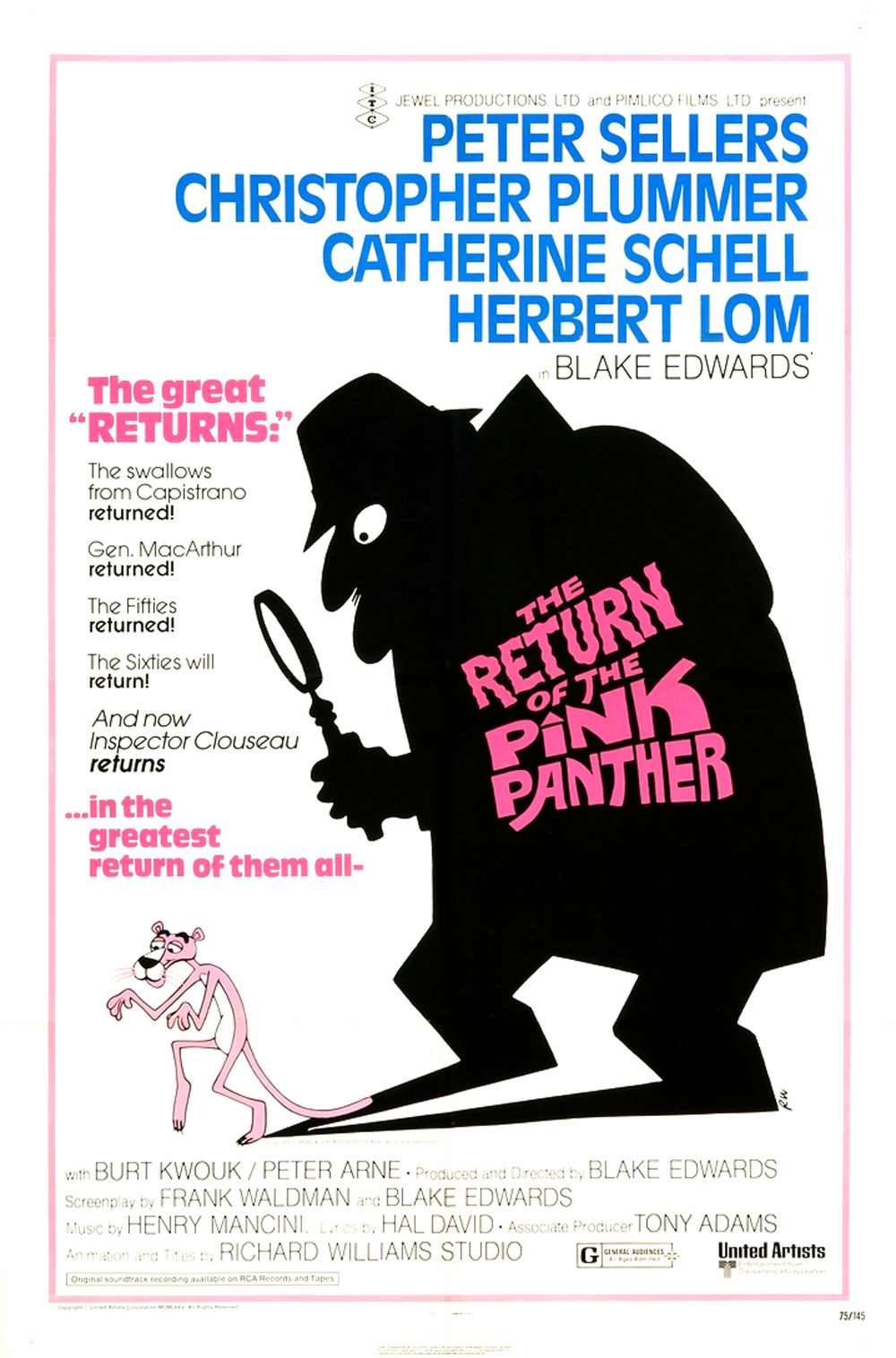 Poster for The Return of the Pink Panther (1975)