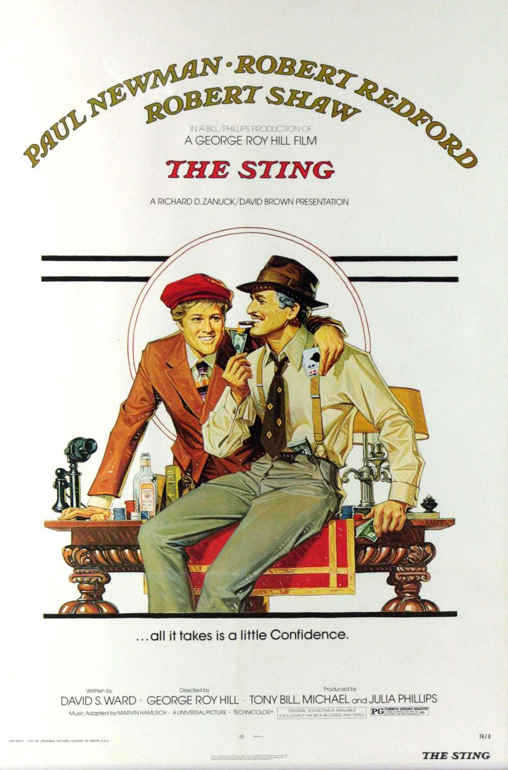 Poster for The Sting (1973)