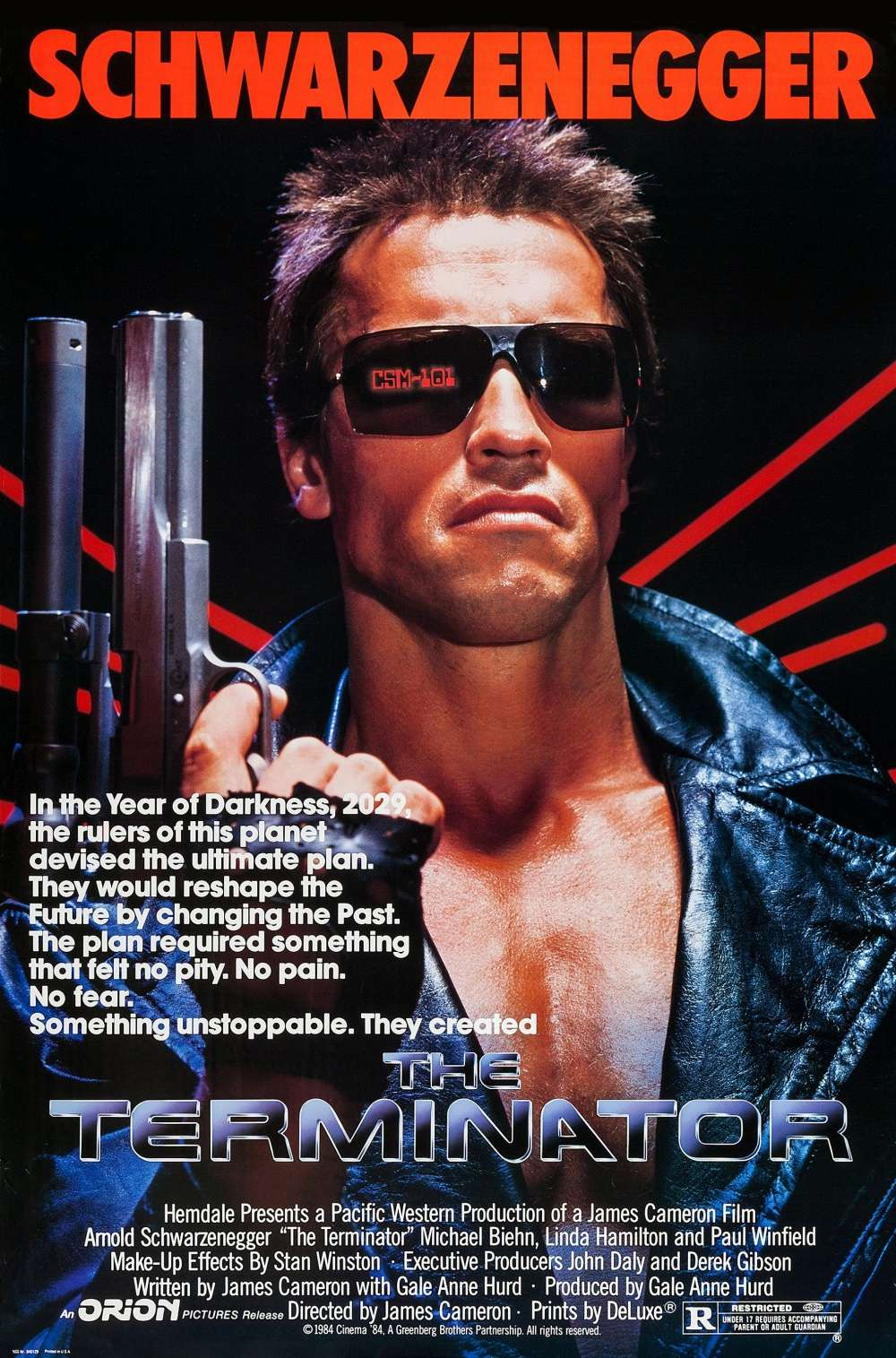 Poster for The Terminator (1984)