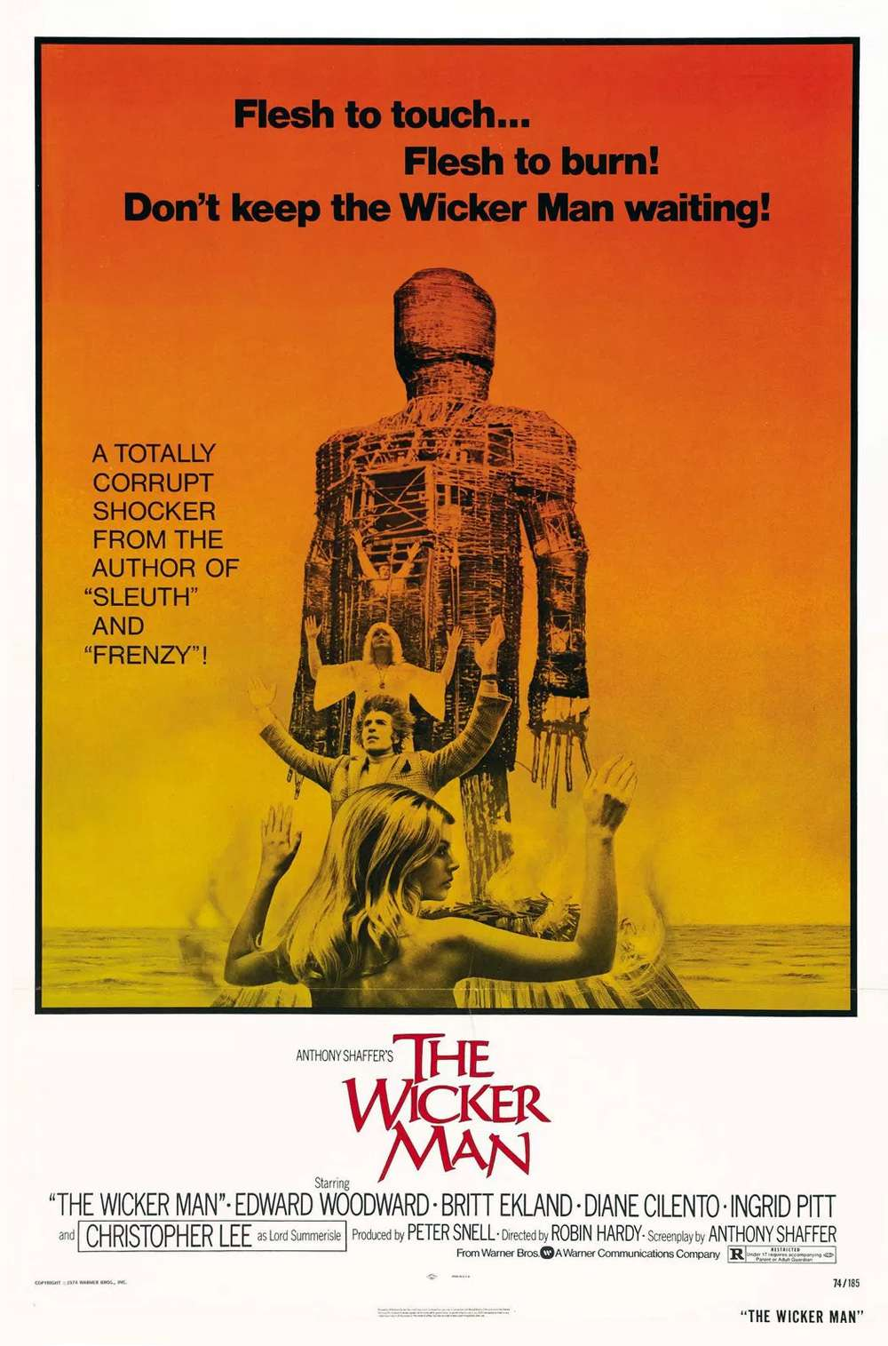 Poster for The Wicker Man (1973)