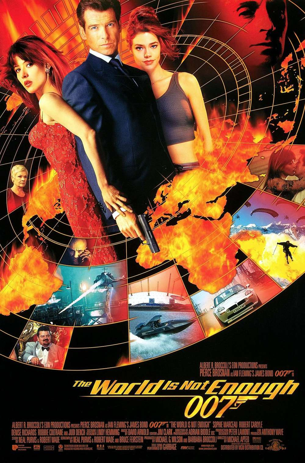 Poster for The World Is Not Enough (1999)