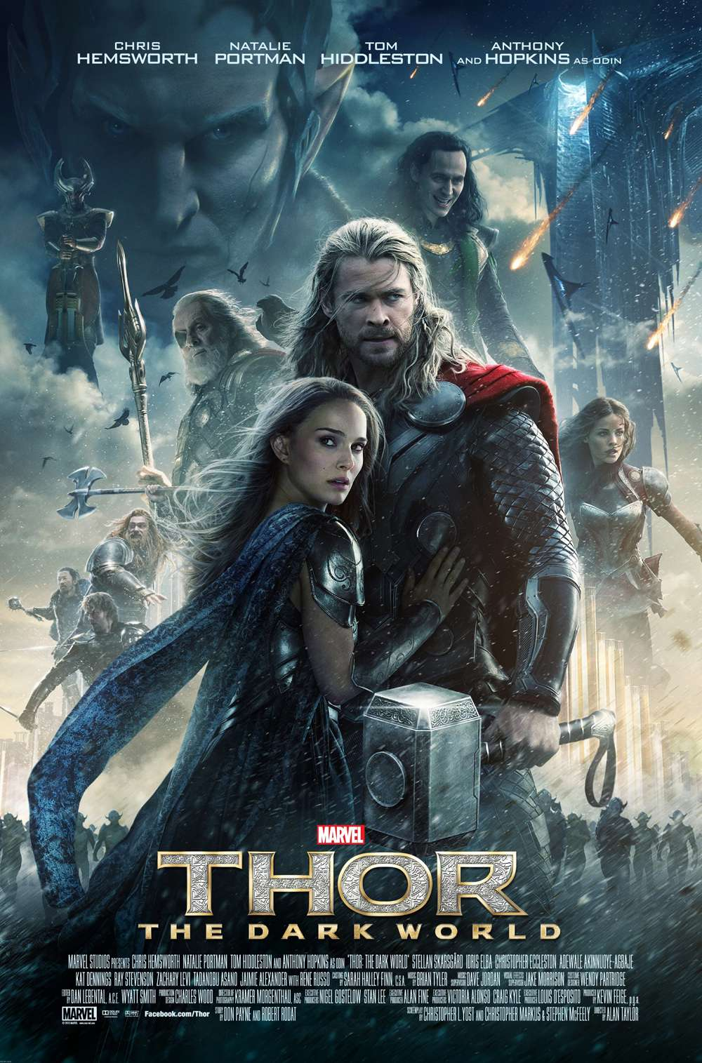 Poster for Thor: The Dark World (2013)