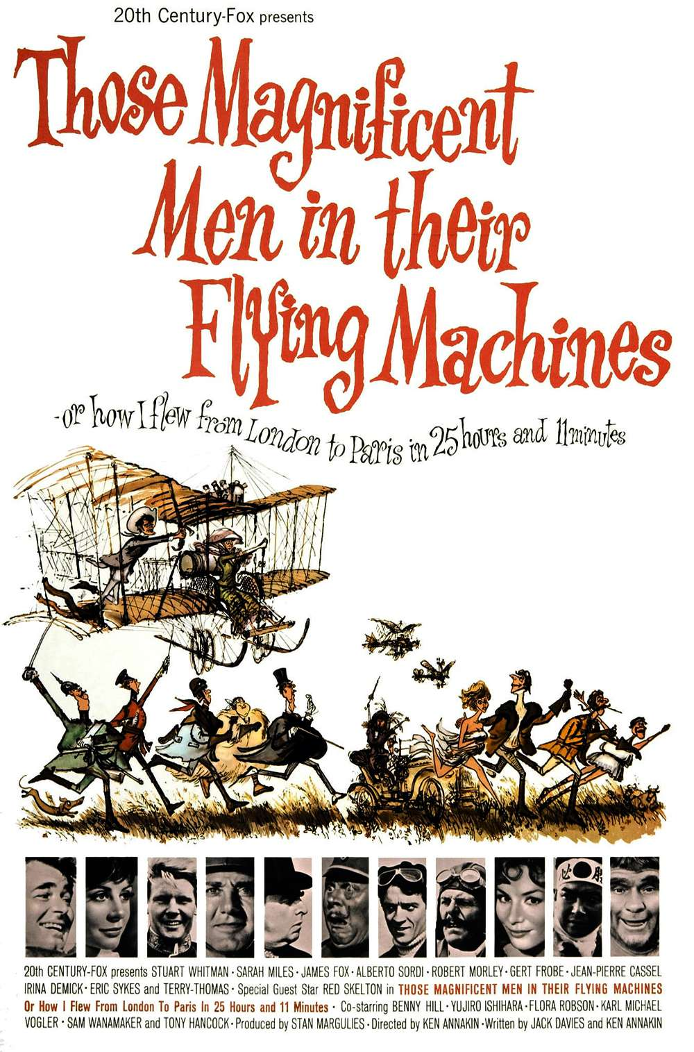 Poster for Those Magnificent Men in Their Flying Machines (1965)