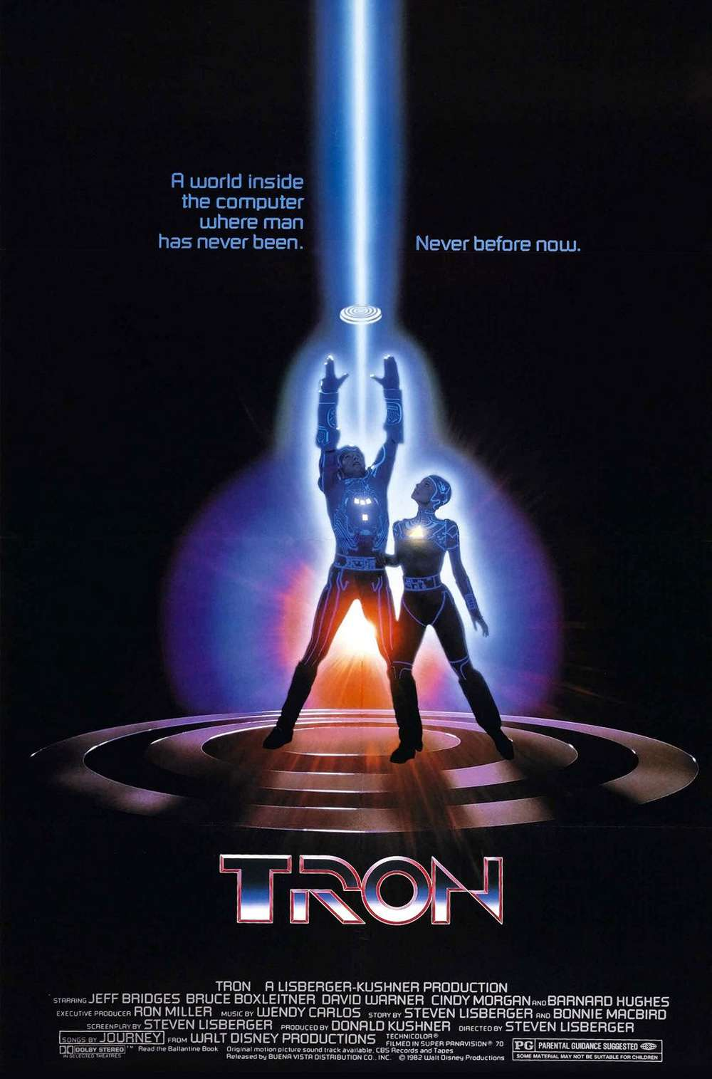 Poster for Tron (1982)